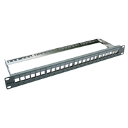 506078 Setec 506078 Patch-Panel 1HE 24xUKJ/XKJ RAL 7035