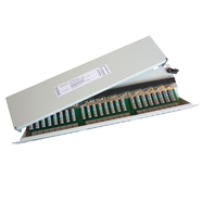 506121 Setec 506121 Patchpanel 24 Port Cat.6A ISO lichtgrau